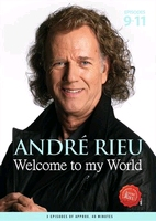 André Rieu - Welcome to my world 3 (episodes 9-12)  DVD